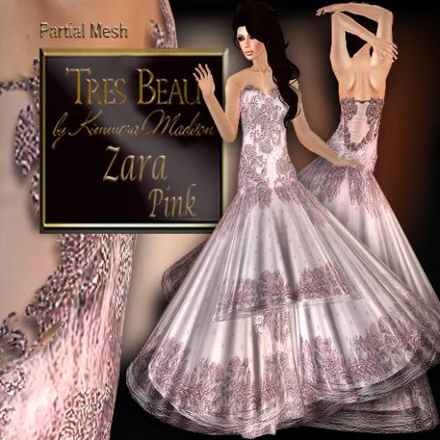 Tres Beau Zara Pink